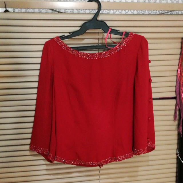 FLASH SALE!!!!! 90'S RED TOP