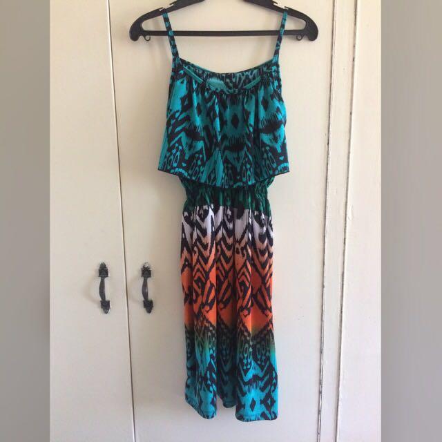 Repriced! Aztec Beach dress