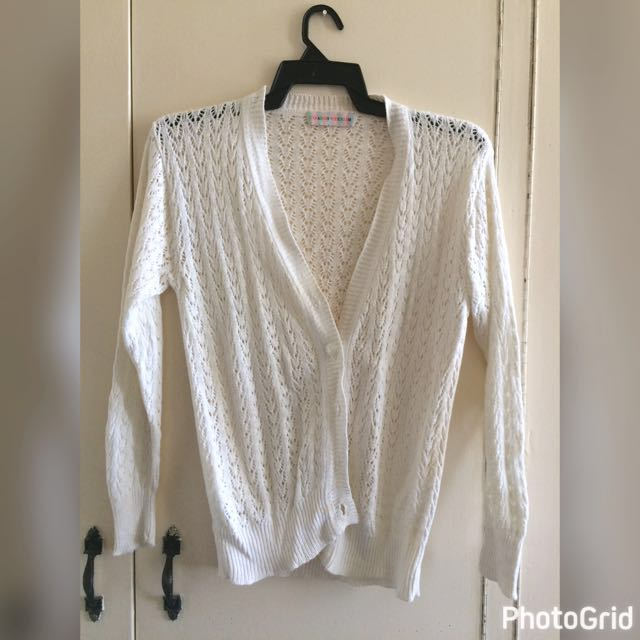 Repriced! Knitted Cardigan