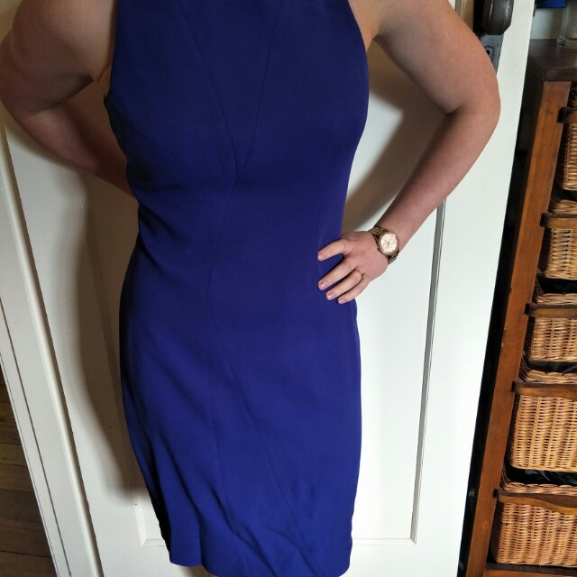 SABA Blue suit dress