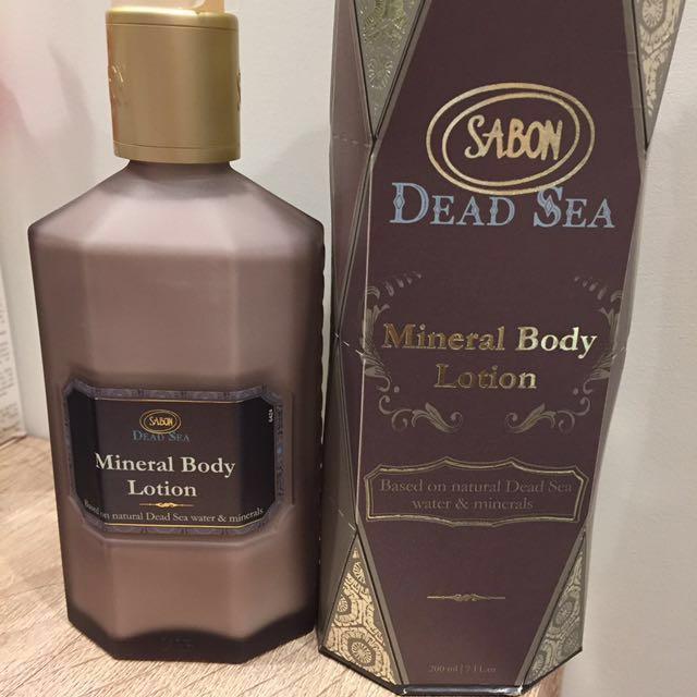 Sabon死海晶礦身體乳液200ml