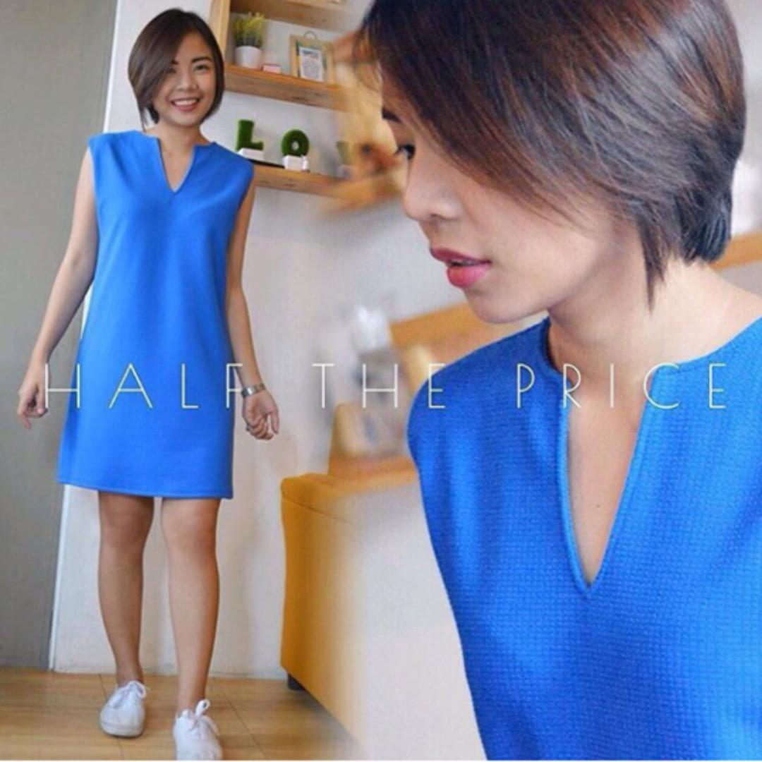 SALE! HTP Blue V Dress