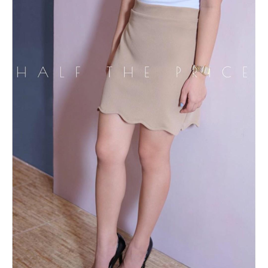 SALE! HTP Scallop Skirt