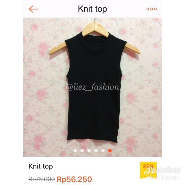 SALE!!! Knit top