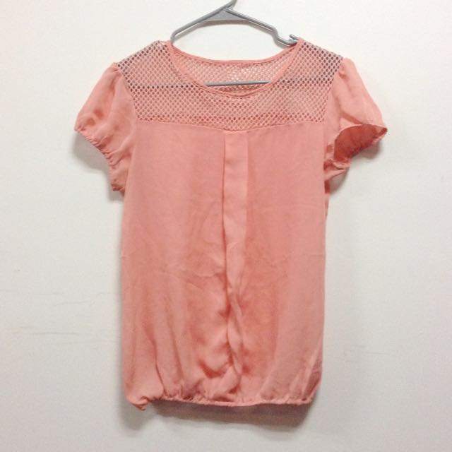 SALE! Peach Blouse