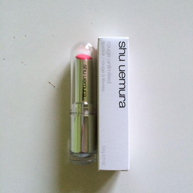 Shu Uemura Rouge Unlimited Lipstick in PK 368