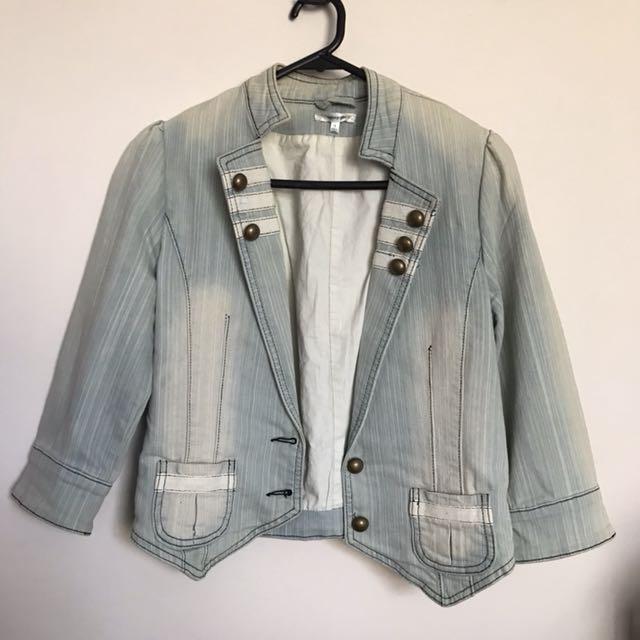 Size 10 denim jacket
