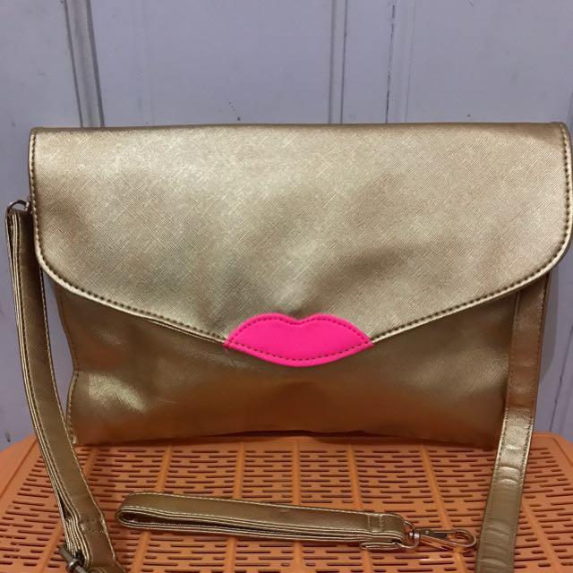 Sling Bag / Clutch ( 2 Option )