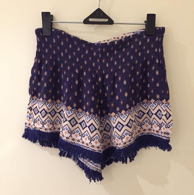 Summertime beach shorts
