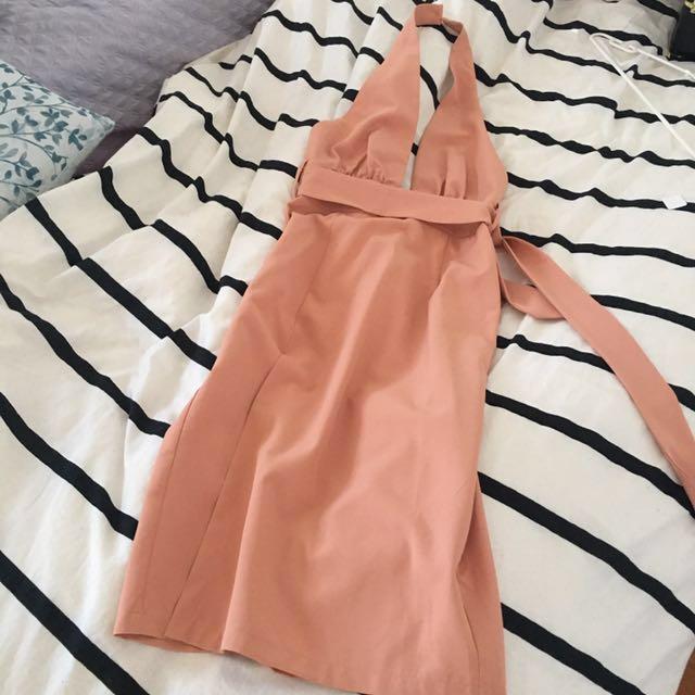 Sundays the Label Apricot dress size 8