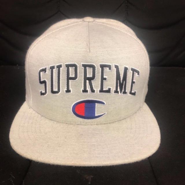 SupremeXchampion帽子