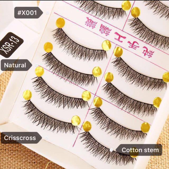 1aab658444e Taiwan Handmade False/Fake Eyelashes (#X001 CS), Health & Beauty ...