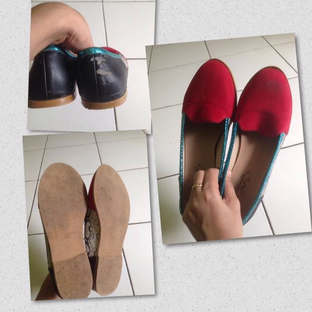 Take All flat shoes size 37