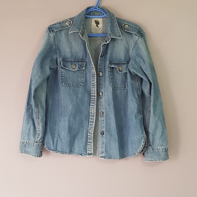 Talula denim shirt