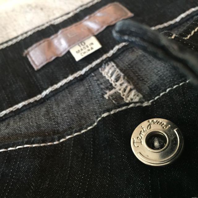 Temt stretchable Black pants s10