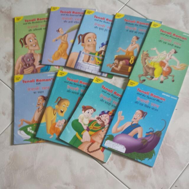 Tenali Raman Story Books( Hindi And English) on Carousell