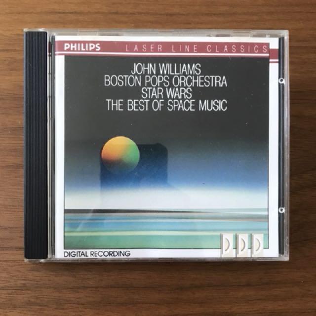 The Best Of Space Music John Williams Music CD, Music
