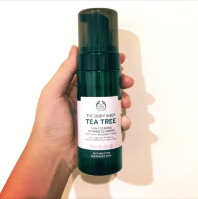 The body shop茶樹系列