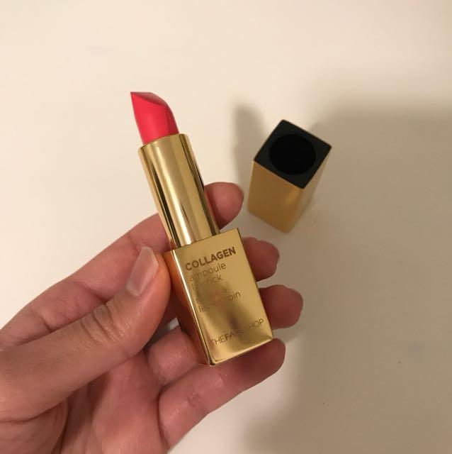 The Face Shop Collagen Ampoule Lipstick