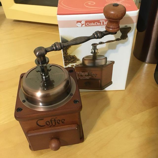 Tiamo 復古咖啡研磨機