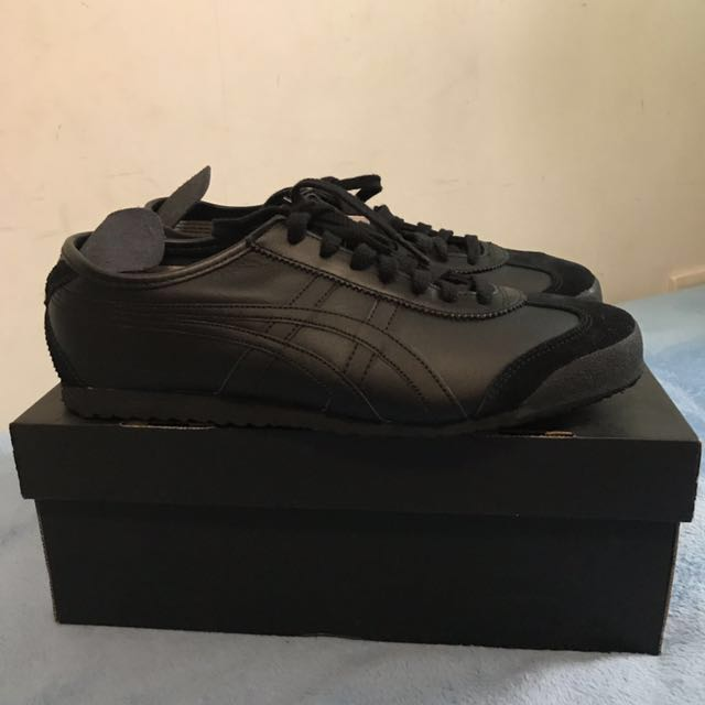 check out e5913 65840 Tiger Onitsuka All Black, Men's Fashion, Footwear on Carousell