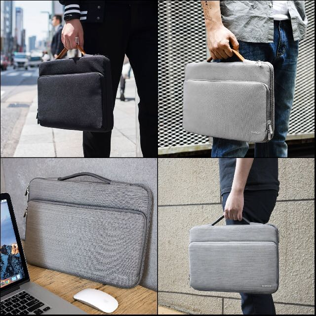 d89986480619 Tomtoc 360° Protective Laptop Sleeve Case 12.3 inch Surface Pro 13 ...