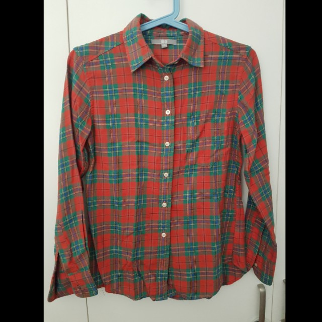 Uniqlo Flannel Top