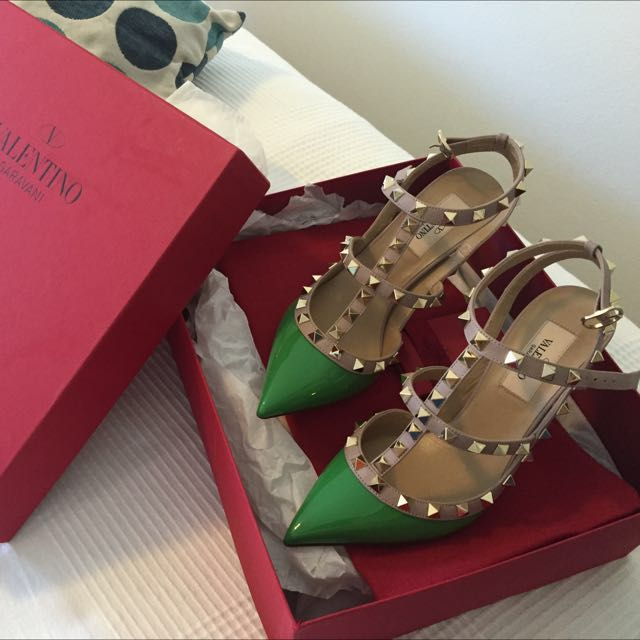 Valentino Shoes Size 36.5---- Price Down