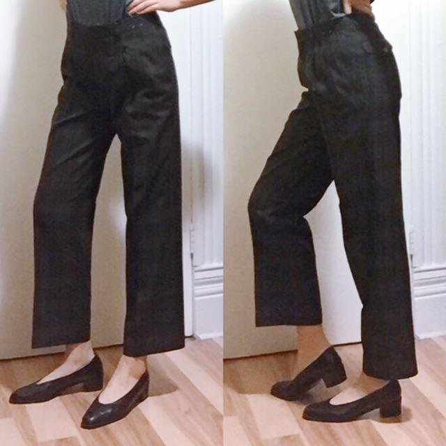 Vintage plaid golf pants