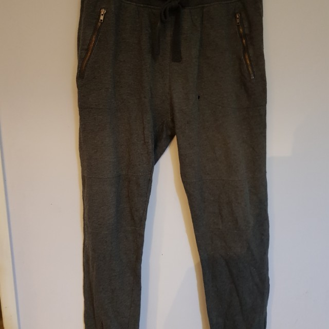 WAVE ZONE grey track pants with small hole in front as pictured size XL