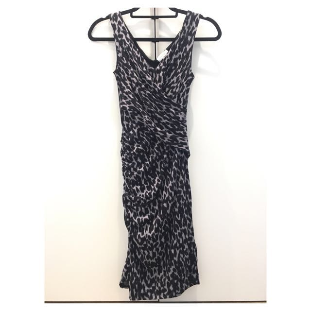 Witchery Animal Print Dress Size 4