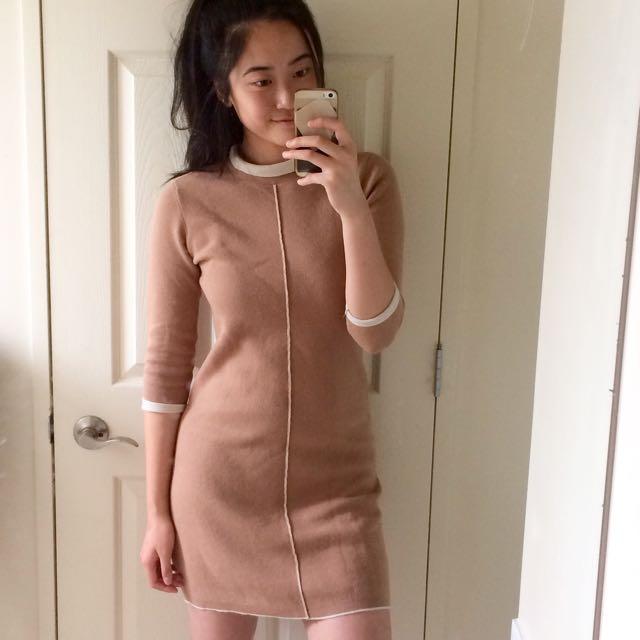 Witchery Cotton/Wool Dress