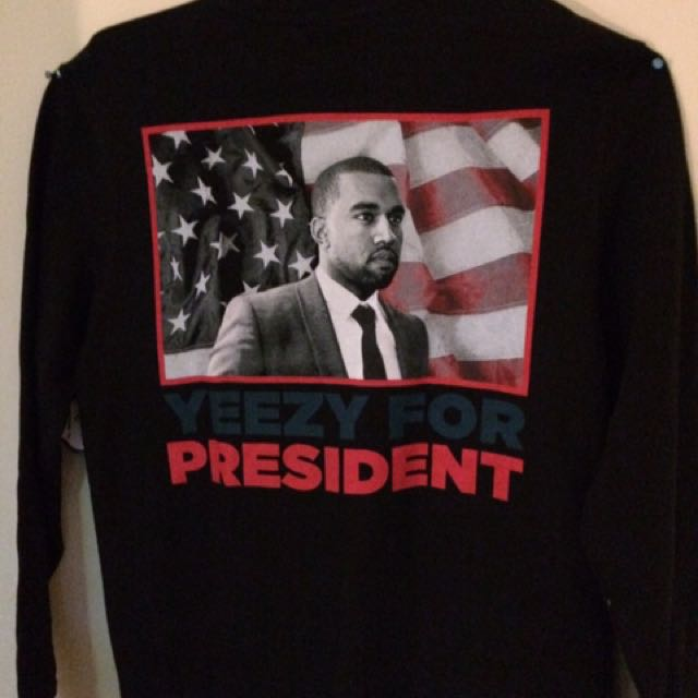 YEEZY FOR PRESIDENT jumper