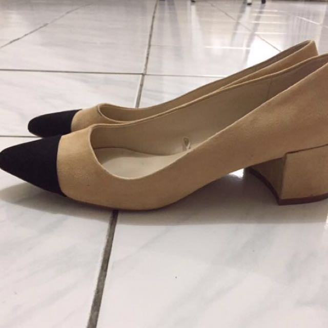 ZARA Pump Block Heels