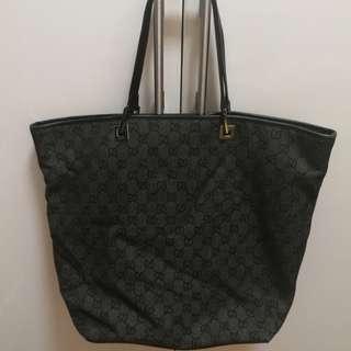(9成新) Gucci monogram tote bag 手袋 (連原裝塵袋)