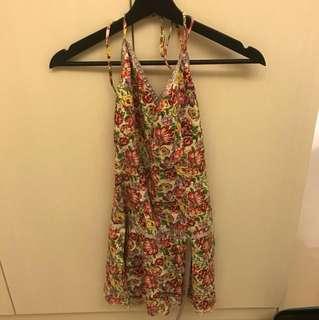 DW花洋裝floral print dress