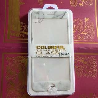兩款iPhone 7plus/8plus  玻璃雲石手機膜貼