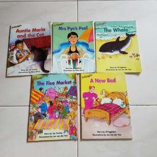 😊 5 Reading Bee Books