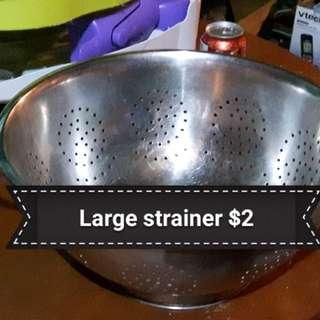 Large strainer