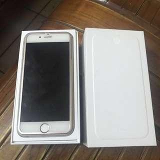 I phone 6 64G 金色 功能正常 全配 原廠盒