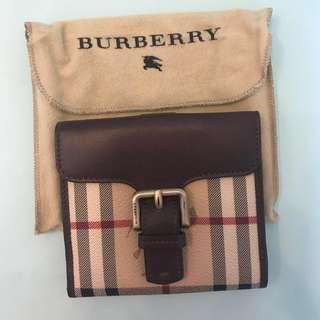 Burberry經典格仔銀包100%正貨