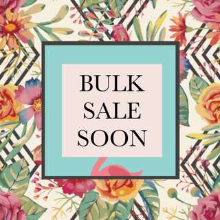 WATCH OUT FOR OUR CHRISTMAS BULK SALE!