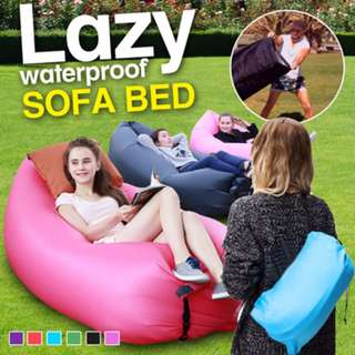 ♥Fast Inflatable★ Lazy Waterproof Sofa Bed ★Premium QualityFestival Camping Travel♥