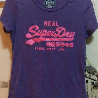 Superdry 女生短袖上衣 保證正品 假貨退錢