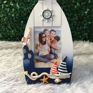 Large size nautical themed picture frame