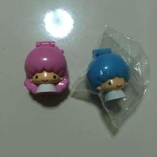 Little twin stars toothbrush holders set