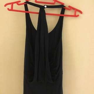 Almost New ! Club Monaco Halter-neck Low Back Dress