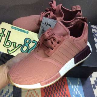 c5a2d3f91b05a (PO) Adidas Womens Exclusive NMD R1 Raw Pink Gum Soles