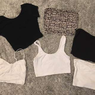 Various Crop Tops $20 for ALL