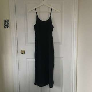 H&M Crepe Slip Dress